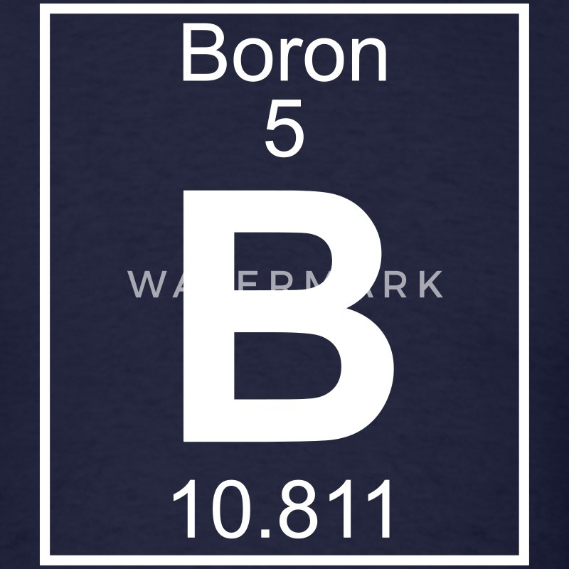 Element 5 - B (boron) - Full T-Shirts - Men's T-Shirt