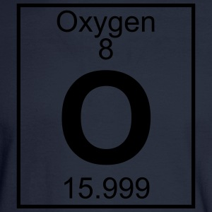 Element 8 - O (oxygen) - Full T-Shirts - Men's Long Sleeve T-Shirt