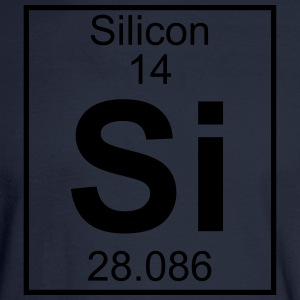 Element 014 - Si (silicon) - Full T-Shirts - Men's Long Sleeve T-Shirt