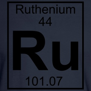 Element 044 - Ru (ruthenium) - Full T-Shirts - Men's Long Sleeve T-Shirt