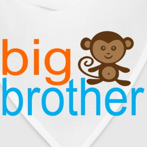 Big Brother -Monkey Kids' Shirts - Bandana