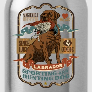 labrador_and_pheasant_c T-Shirts - Water Bottle