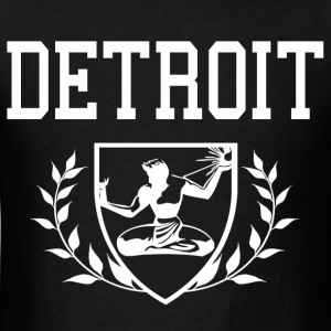 Spirit of Detroit Crest - Men's T-Shirt