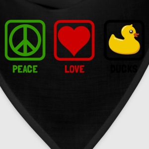 peace love ducks - Bandana