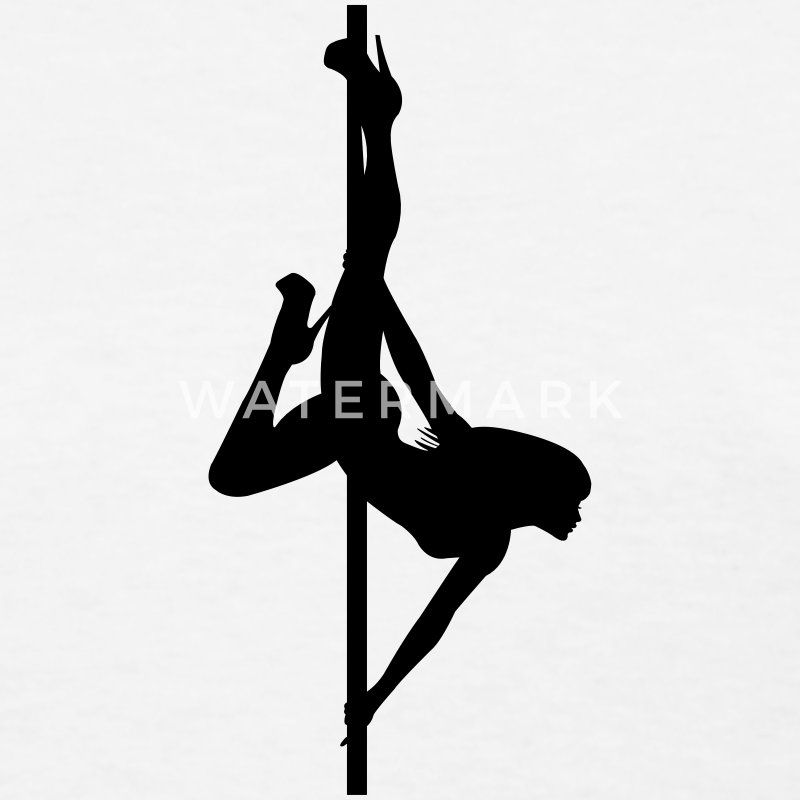 Stripper - Pole Dancing - Dancer - Nude - Naked Women's T-Shirts - Women's T-Shirt