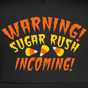 WARNING!SUGAR RUSH incoming! candy corn HALLOWEEN  Tanks - Trucker Cap