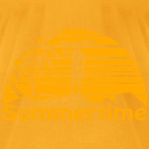 Summertime Surfer Bags & backpacks - Men's T-Shirt by American Apparel