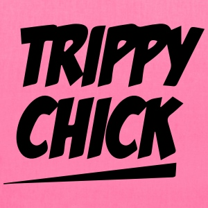 Trippy Chick Tee - Tote Bag