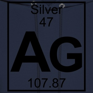 Element 47 - Ag (Silver) - Full T-Shirts - Men's Hoodie