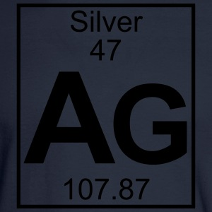 Element 47 - Ag (Silver) - Full T-Shirts - Men's Long Sleeve T-Shirt