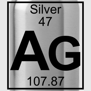 Element 47 - Ag (Silver) - Full T-Shirts - Water Bottle