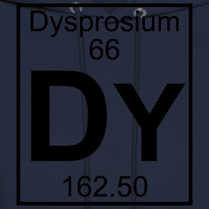 Element 66 - Dy (dysprosium) - Full T-Shirts - Men's Hoodie