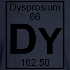 Element 66 - Dy (dysprosium) - Full T-Shirts - Men's Long Sleeve T-Shirt