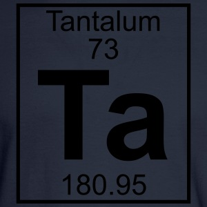 Element 73 - Ta (tantalum) - Full T-Shirts - Men's Long Sleeve T-Shirt
