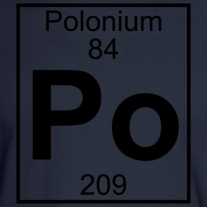 Element 84 - Po (polonium) - Full T-Shirts - Men's Long Sleeve T-Shirt