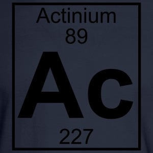 Element 89 - ac (actinium) - Full T-Shirts - Men's Long Sleeve T-Shirt