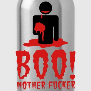 NSFW BOO! mother fucker with zombie man eating bra Sweatshirts - Water Bottle