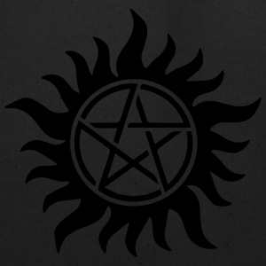 Pentagram - Supernatural - Demons - Sam - Dean T-Shirts - Eco-Friendly Cotton Tote