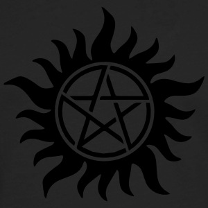 Pentagram - Supernatural - Demons - Sam - Dean T-Shirts - Men's Premium Long Sleeve T-Shirt