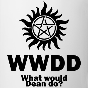 What Would Dean Do? - Supernatural - Winchesters Kids' Shirts - Coffee/Tea Mug