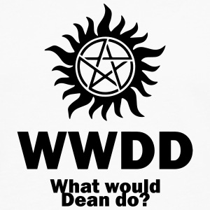 What Would Dean Do? - Supernatural - Winchesters Kids' Shirts - Men's Premium Long Sleeve T-Shirt