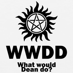 What Would Dean Do? - Supernatural - Winchesters Kids' Shirts - Men's Premium Tank