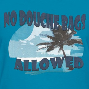best_new_great_island_ping_no_douchebags Tanks - Women's T-Shirt