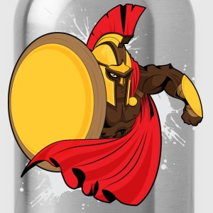 Spartan - Sparta - Greek - Warrior - Soldier T-Shirts - Water Bottle