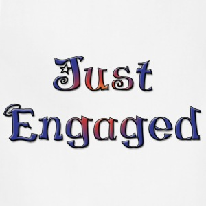 Just Engaged T-Shirt - Adjustable Apron