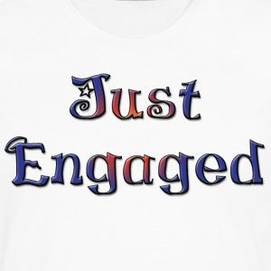 Just Engaged T-Shirt - Men's Premium Long Sleeve T-Shirt