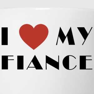 I Love My Fiance T-Shirt - Coffee/Tea Mug