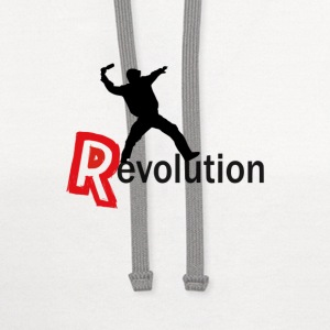Revolution T-Shirts - Contrast Hoodie