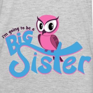 I'm going to be a Big Sister - Owl Sweatshirts - Men's Premium Long Sleeve T-Shirt