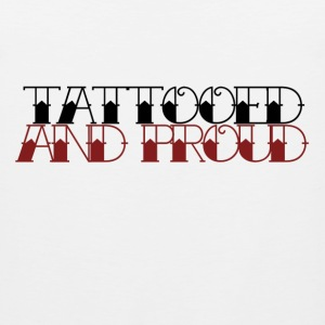 Tattooed and proud - Men's Premium Tank