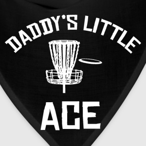 Daddy's Little Ace Disc Golf Shirt Baby & Toddler Shirts - Bandana