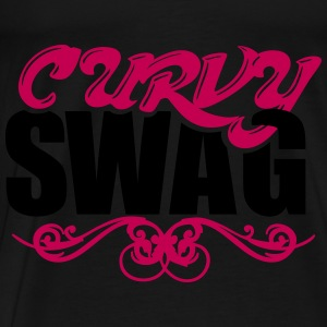 Curvy Swag Bags & backpacks - Men's Premium T-Shirt