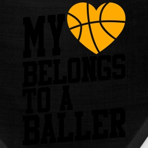my heart belongs to a baller T-Shirts - Bandana