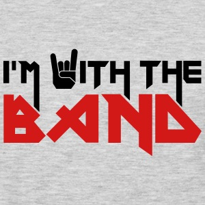 i'm with the Band T-Shirts - Men's Premium Long Sleeve T-Shirt