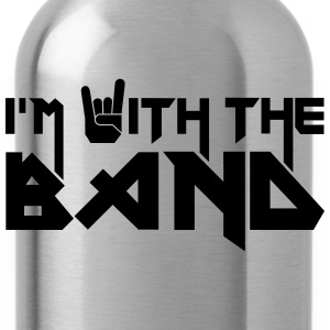 i'm with the Band Tanks - Water Bottle