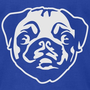 pug Tanks - Men's T-Shirt by American Apparel