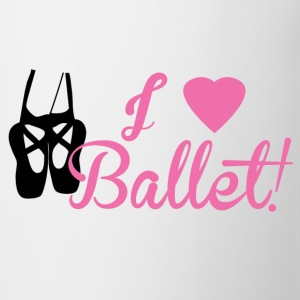 I Love Ballet - Coffee/Tea Mug