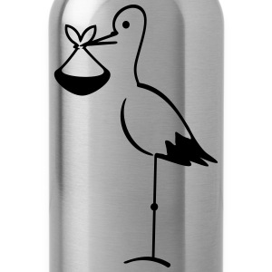 stork with bundle (1c) Tanks - Water Bottle