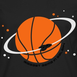 Planet Sport Basketball T-Shirts - Men's Premium Long Sleeve T-Shirt