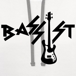 bassist T-Shirts - Contrast Hoodie
