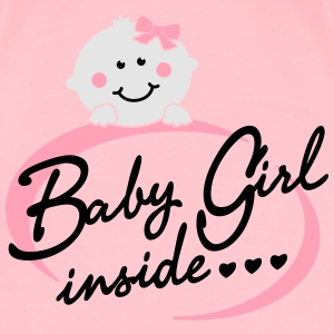 baby girl inside Tanks - Women's Premium T-Shirt