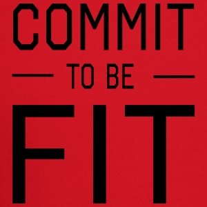 Commit to be Fit Women's T-Shirts - Crewneck Sweatshirt