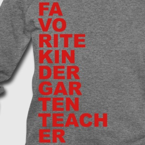 Favorite Kindergarten Teacher Women's T-Shirts - Women's Wideneck Sweatshirt