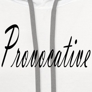Provocative Tanks - Contrast Hoodie
