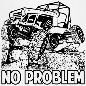 No Problem Rock Crawling Jeep T-Shirts - Adjustable Apron
