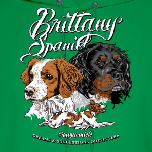 brittany_spaniel T-Shirts - Men's Hoodie